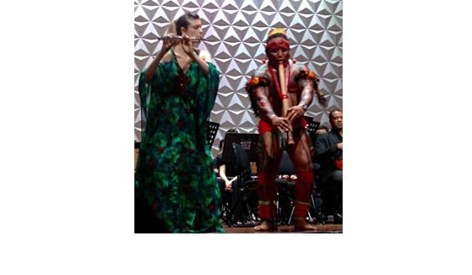 "Maestro Eder Paolozzi | OSC em ""Concerto para os povos indígenas"" |Sala Cecíclia Meireles"
