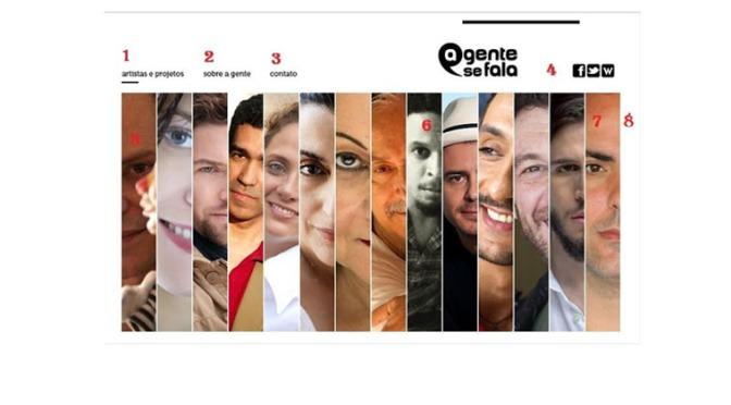 Site | A Gente Se Fala | 2010