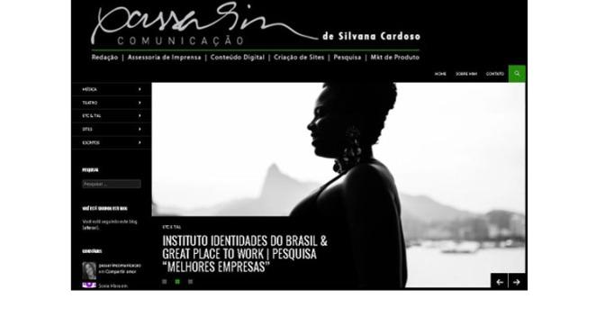Site | Passarim Comunicação | 2018