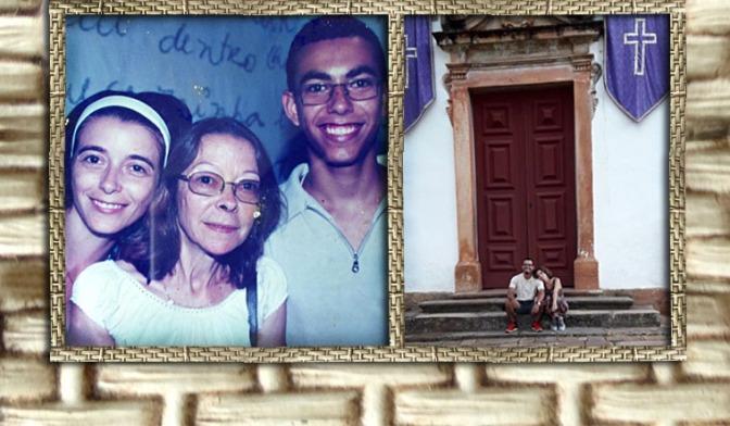 Para pais e filhos, para Diego e para minha mãe